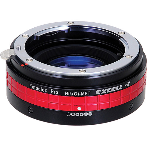FotodioX Excell+1 Nikon F-Mount G Lens Adapter for Micro Four Thirds Cameras