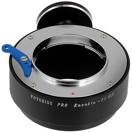 FotodioX Exakta/Topcon Pro Lens Adapter with Tripod Mount for Fujifilm X-Mount Cameras