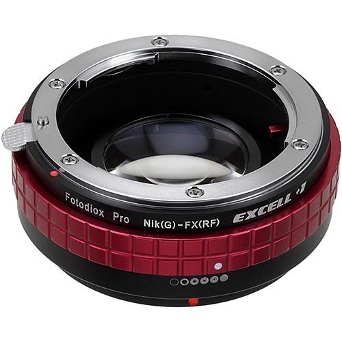 FotodioX Excell+1 Nikon F Lens to Fujifilm X Camera Lens Adapter