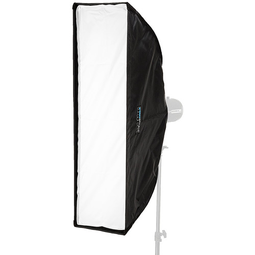 """FotodioX Pro Studio Solutions EZ-Pro Strip Softbox (9 x 36"""") with Balcar, Alien Bees, Einstein, White Lightning, and Flashpoint I Speed Ring"""