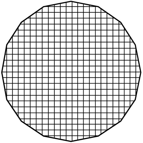 "FotodioX Pro 36"" Eggcrate Grid 50-Degree For 36"" Deep Ez-Pro Parabolic Softboxes"