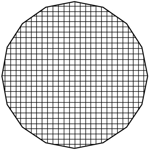 "FotodioX Pro 48"" Eggcrate Grid 50-Degree For 48"" Deep Ez-Pro Parabolic Softboxes"