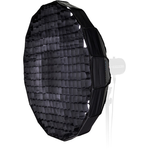 "FotodioX EZ-Pro Foldable Beauty Dish Softbox Combo with 50-Degree Grid for Quantum Flashes (24"")"