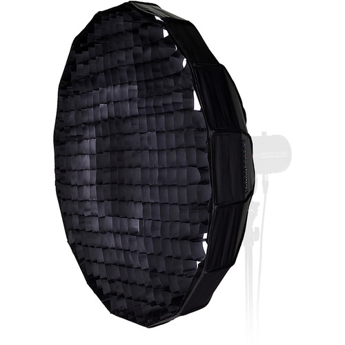 "FotodioX EZ-Pro Foldable Beauty Dish Softbox Combo with 50-Degree Grid for Multiblitz Varilux Flash Heads (32"")"