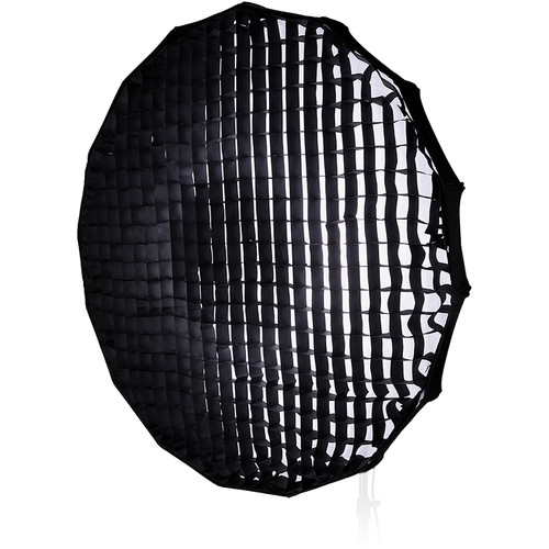 "FotodioX EZ-Pro Foldable Beauty Dish Softbox Combo with 50-Degree Grid for Photogenic Flash Heads (40"")"