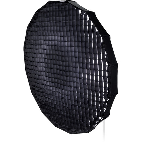 "FotodioX EZ-Pro Foldable Beauty Dish Softbox Combo with 50-Degree Grid for Multiblitz Varilux Flash Heads (48"")"