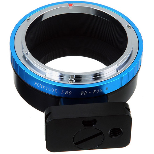 FotodioX Pro Lens Mount Adapter for Canon FD-Mount Lens to Canon EF-M Mount Camera