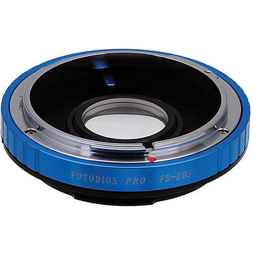 FotodioX Pro Lens Mount Adapter for Canon FD Lens to Canon EF Mount Camera
