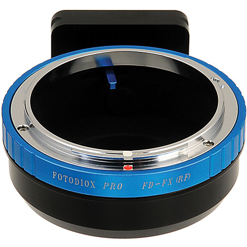 FotodioX Canon FD Pro Lens Adapter with Tripod Mount for Fujifilm X-Mount Cameras