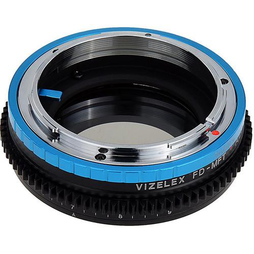 FotodioX Canon FD Lens to Micro Four Thirds Camera Vizelex Polar Throttle Adapter
