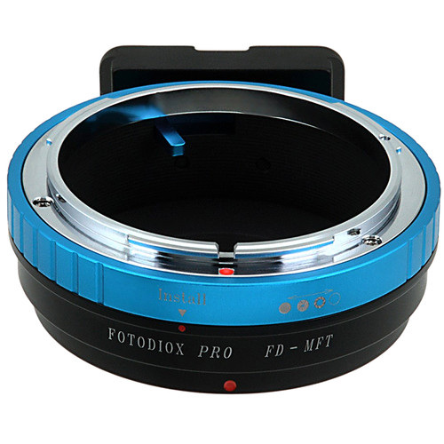 FotodioX Pro Lens Mount Adapter for Canon FD Mount Lens to Micro Four Thirds Mount Camera