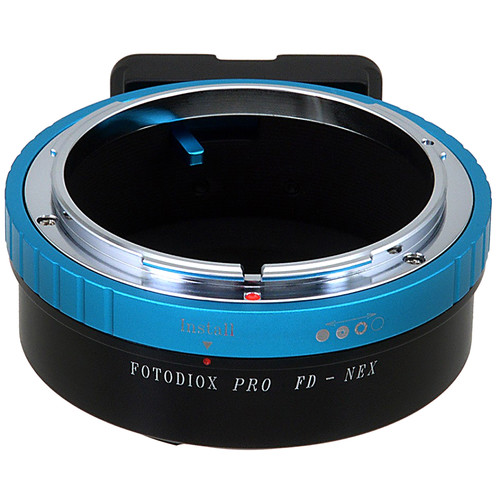 FotodioX Canon FD Lens to Sony E-Mount Camera Pro Lens Mount Adapter