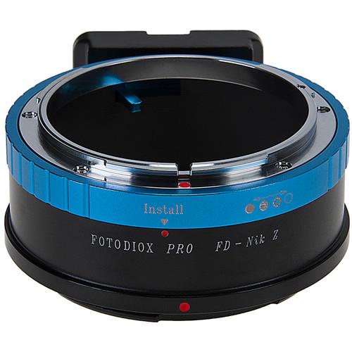 FotodioX Canon FD Lens to Nikon Z-Mount Camera Pro Lens Adapter