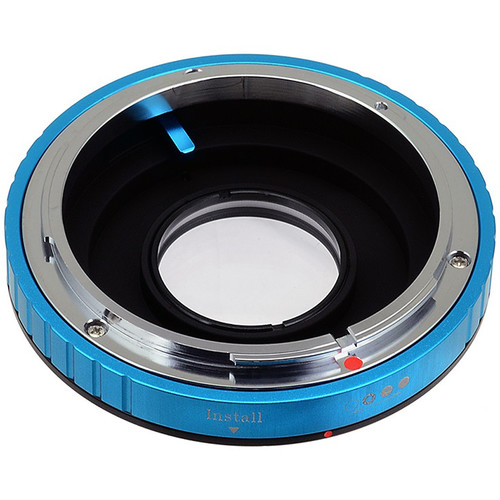 FotodioX Pro Lens Mount Adapter for Canon FD Lens to Nikon F Mount Camera