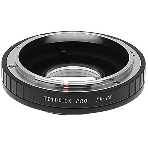 FotodioX Pro Lens Mount Adapter for Canon FD Lens to Pentax K Mount Camera