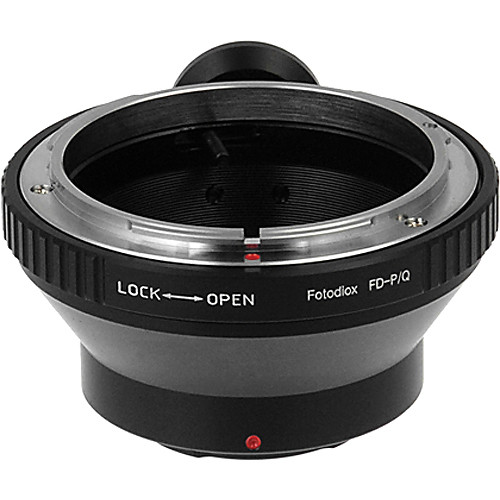 FotodioX Adapter for Canon FD Lenses to Pentax Q Mount Mirrorless Cameras