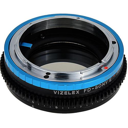 FotodioX Canon FD Lens to Sony E-Mount Camera Vizelex Polar Throttle Adapter