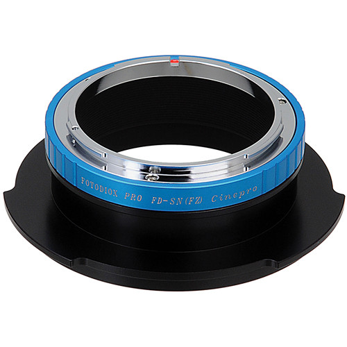 FotodioX Pro Lens Mount Adapter Canon FD/FL to Sony FZ Mount