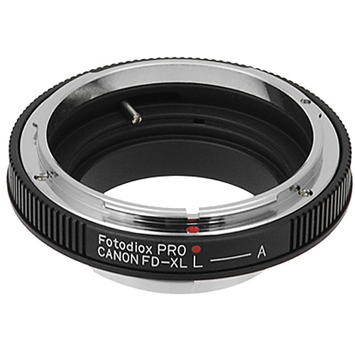 FotodioX Adapter for Canon FD Lens to Canon XL Camera