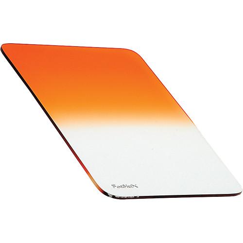 FotodioX 130 x 173mm Soft-Edge Graduated Sunset Orange 0.6 Filter (2-Stop)