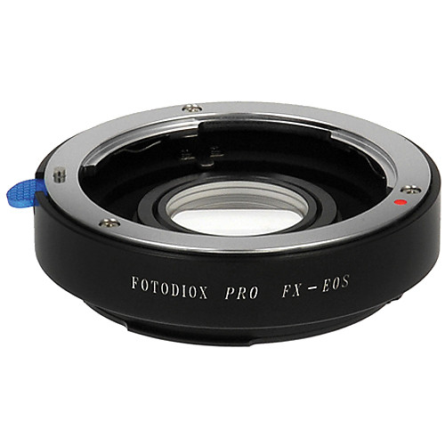 FotodioX Pro Lens Mount Adapter for Fujica X Lens to Canon EF-Mount Camera