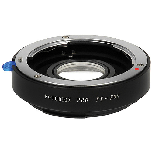 FotodioX Pro Lens Mount Adapter for Fujica X Lens to Canon EF-Mount Camera with Dandelion Focus Confirmation Chip