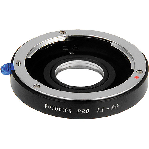 FotodioX Pro Lens Mount Adapter for Fujica X Lens to Nikon F Mount Camera
