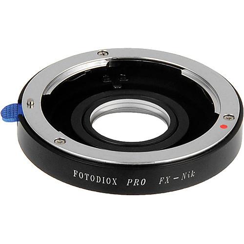 FotodioX Pro Lens Mount Adapter for Fujica X Lens to Nikon F Mount Camera