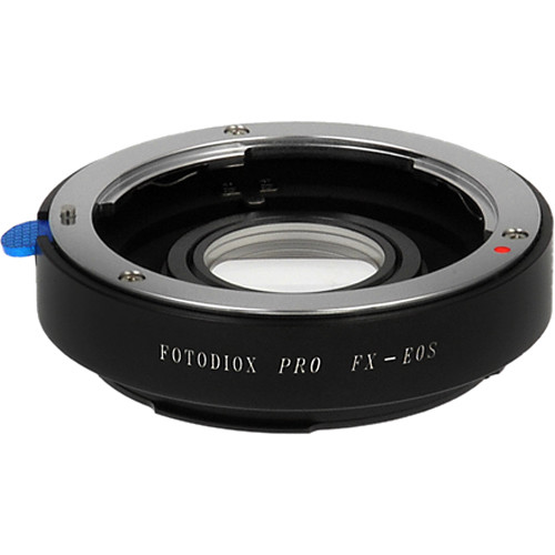 FotodioX Pro Mount Adapter for Fujica X-Mount Lens to Canon EOS Camera