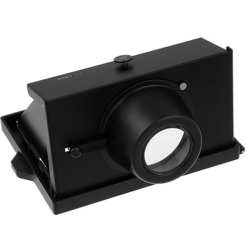 FotodioX Pro Right Angle View Finder Hood for 4x5 Linhof Camera (Black)