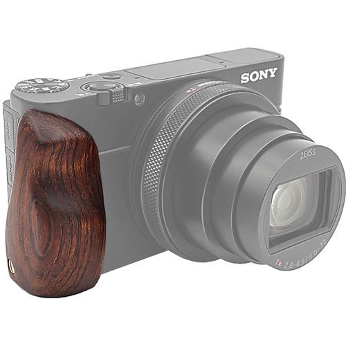 FotodioX Pro Wooden Hand Grip for Sony Cyber-Shot RX100 VI (Dark Brown)