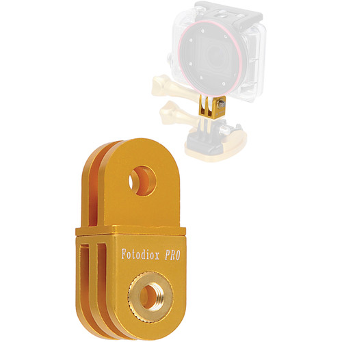 FotodioX GoTough Extender Mount for GoPro Cameras (Gold)