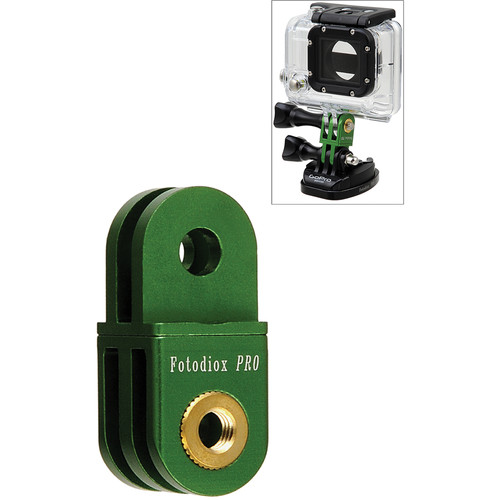 FotodioX GoTough Extender Mount for GoPro Cameras (Green)