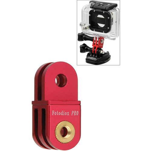 FotodioX GoTough Extender Mount for GoPro Cameras (Red)