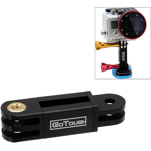 FotodioX GoTough Long Extender Mount for GoPro Cameras (Black)