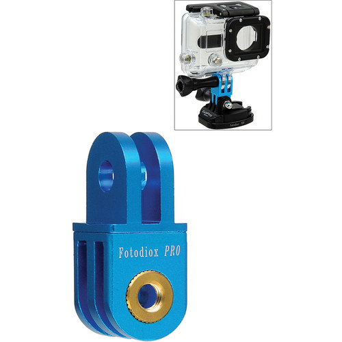 FotodioX GoTough Extender 90 Mount for GoPro Cameras (Blue)