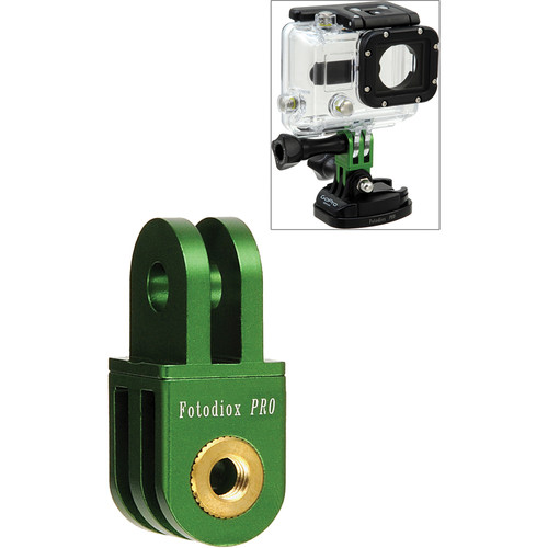 FotodioX GoTough Extender 90 Mount for GoPro Cameras (Green)