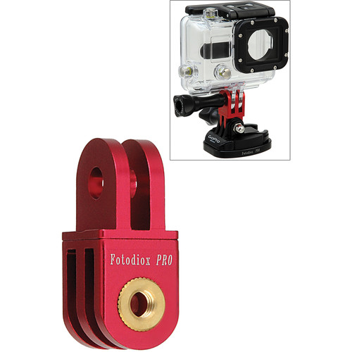 FotodioX GoTough Extender 90 Mount for GoPro Cameras (Red)