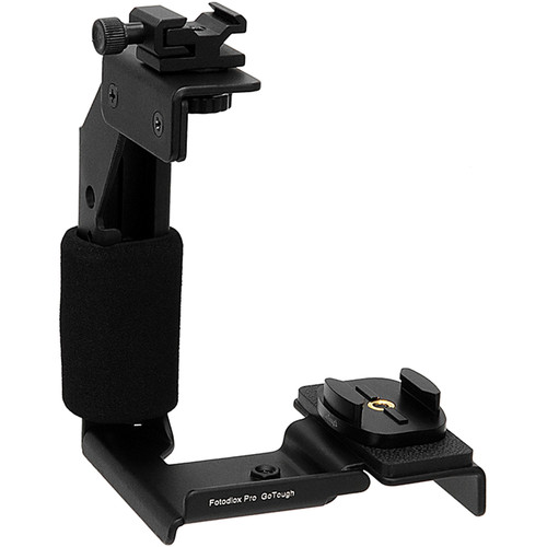 FotodioX GoTough Grip with Quick Release Tripod Base Mount for GoPro Cameras