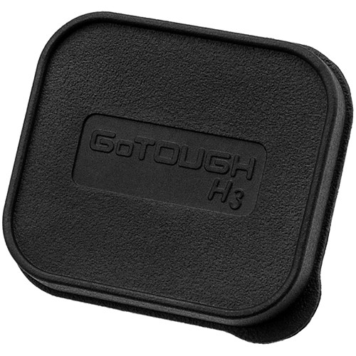 FotodioX GoTough Replacement Lens Cap for HERO3+/4 Dive Housing (3-Pack)