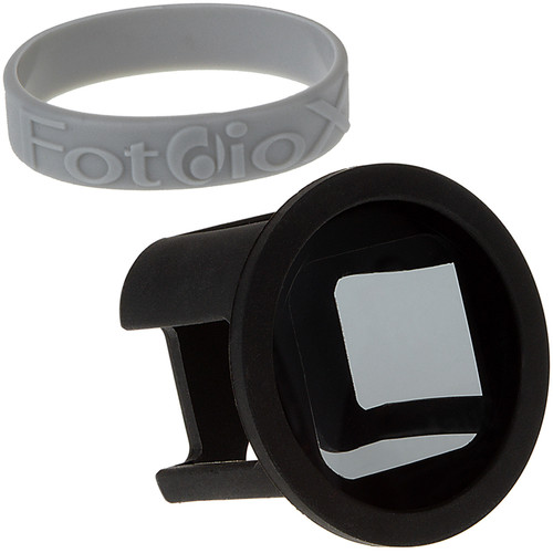 FotodioX GoTough Silicone Mount with ND4 Neutral Density 0.6 2-Stop Filter for GoPro HERO & HERO5 Session Camera