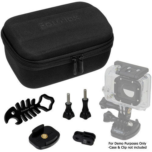 FotodioX GoTough CamCase Single Camera Kit for GoPro Cameras (Pitch Black)