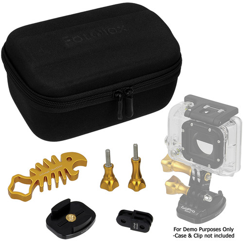 FotodioX GoTough CamCase Single Camera Kit for GoPro Cameras (Gambler's Gold)