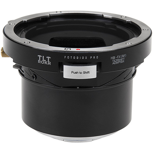 FotodioX Pro TLT ROKR Tilt/Shift Adapter for Hasselblad V-Mount Lens to Fuji X-Mount Camera
