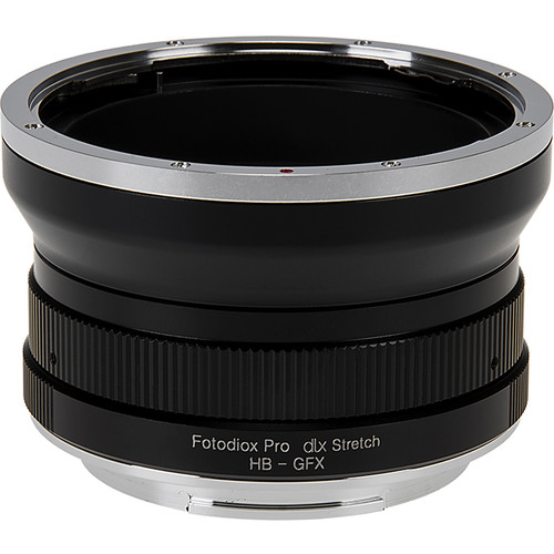 FotodioX DLX Stretch Lens Mount Adapter for Hasselblad V Mount SLR Lens to Fuji G Mount GFX