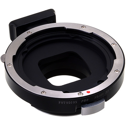 FotodioX Pro Shift Mount Adapter for Hasselblad V-Mount Lens to Nikon F-Mount Camera