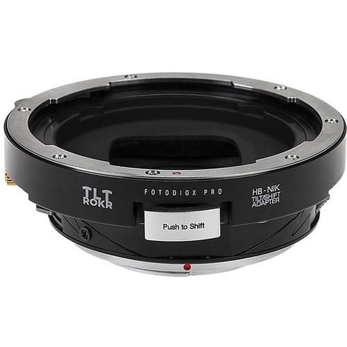 FotodioX Pro TLT ROKR Tilt/Shift Adapter for Hasselblad V-Mount Lens to Nikon F-Mount Camera