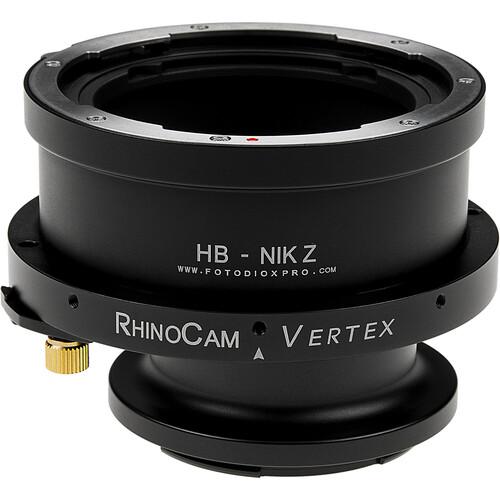 FotodioX RhinoCam Vertex Rotating Stitching Adapter for Hasselblad V-Mount Lenses on Nikon Z-Mount Cameras
