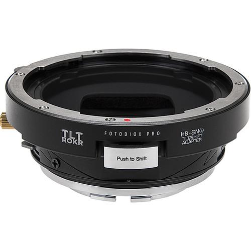 FotodioX Pro TLT ROKR Tilt/Shift Adapter for Hasselblad V-Mount Lens to Sony A-Mount Camera