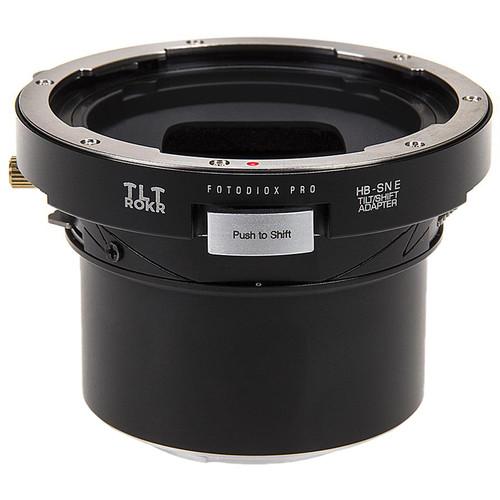 FotodioX Pro TLT ROKR Tilt-Shift Adapter for Hasselblad V Lens to Sony E Camera